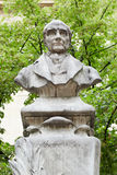 Auguste Comte bust in Paris Stock Photos