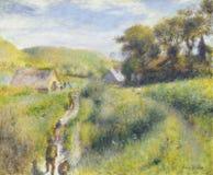 Auguste Renoir - o Vintagers fotos de stock royalty free