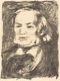 Auguste Renoir - Richard Wagner stockbilder