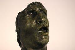 Auguste Rodin schablone 1889 Bronze, Stein stockfoto