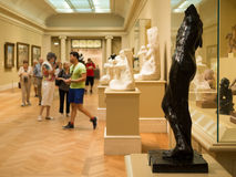 Auguste Rodin sculptures at The Met museum in New York Stock Photography