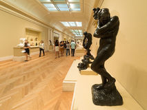Auguste Rodin sculptures at The Met museum in New York Royalty Free Stock Photo