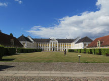 Augustenborg Royal Palace. Augustenborg Palace, Als Island, Southern Denmark, Europe Stock Image