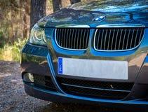 Augusti 2017: Mousserande grafit för BMW 3 serie E90 330i royaltyfri bild