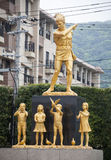 19 augusti 2016 - Nagasaki nationell fred Memorial Hall för Atoen Arkivfoton
