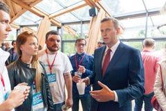 29 Augusti 2017, RYSSLAND, MOSKVA: Ledare av den ryska oppositionen Alexei Navalny Arkivbilder