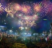 Augusti 24, självständighetsdagen Arkivbild