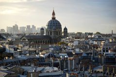 augustin kyrklig paris saint Arkivfoto