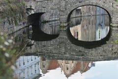 Augustine Bridge (Bruges - Belgium) Royalty Free Stock Photography