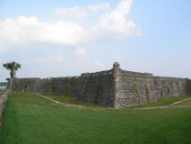 augustine fort st. Obraz Stock