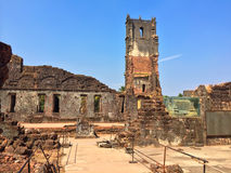 Augustine ruins in Old Goa, Stock Photo