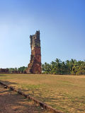 Augustine ruins in Old Goa, India Royalty Free Stock Images