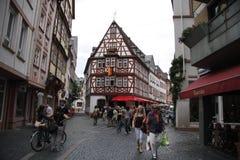 Augustinergasse, Mainz Lizenzfreie Stockfotos
