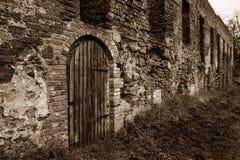 Augustinian修道院废墟 免版税库存照片