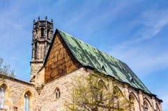 Augustinian монастырь в Эрфурте стоковые изображения rf