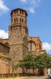 Augustinian монастырь, Тулуза, Франция стоковые изображения rf