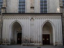 Augustinian церковь в вене, Австрии стоковое фото
