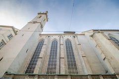 Augustinian церковь в вене, Австрии стоковые изображения rf