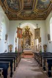 Augustinian Chapel in Men`s island, Chiemsee Stock Photo