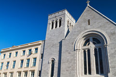 Augustinian church architecture Stock Photos