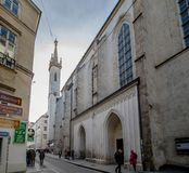 Augustinian Church in Vienna, Austria. Augustinian Church in the first district of Vienna inner city Stock Photos