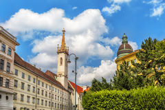 Augustinian Church  in Vienna. Austria. Royalty Free Stock Image