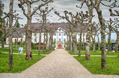 Augustinian Monastery in Men`s island, Chiemsee Stock Photos