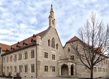 Augustinian monastery. Old augustinian monastery external cathedra Royalty Free Stock Images