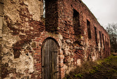 Augustinian monastery ruins Royalty Free Stock Image