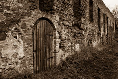 Augustinian monastery ruins Royalty Free Stock Photo