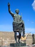 Augustus, ρωμαϊκός αυτοκράτορας, Ρώμη στοκ φωτογραφία