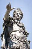 Augustus. Famous statue of augustus in augsburg royalty free stock images