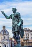 Augustus Caesar Statue Church Rome Italy fotografie stock