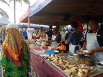 14 Augustus 2016, de Markt van de Landbouwer Stock Foto's