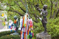 19 augustus 2016 - De Nationale Vrede Memorial Hall van Nagasaki voor ATO Stock Fotografie