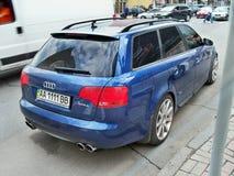 25 augustus, 2010 De Oekraïne - Kiev Avant Audi RS4 royalty-vrije stock fotografie