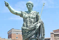 Augustus: the emperor Royalty Free Stock Photography