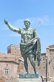 Augustus: the emperor. Emperor Augustus statue in Rome royalty free stock photo