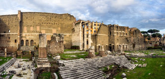Augustus forum in Rome, Italy Royalty Free Stock Image