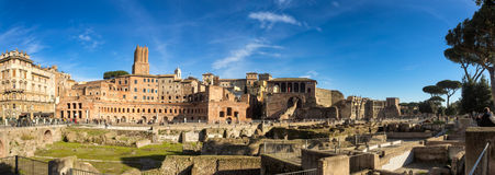 Augustus forum in Rome, Italy Stock Images