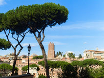 Augustus forum in Rome Royalty Free Stock Photography