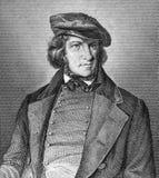 Augustus Heinrich Hoffmann von Fallersleben stock foto's