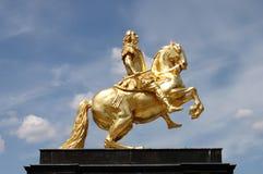 Augustus II la forte statua immagine stock