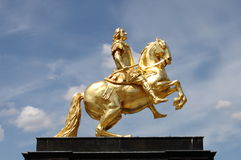 Augustus II la statue intense image stock