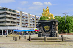 Augustus II the Strong  statue in Dresden Royalty Free Stock Photography