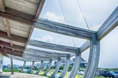 7 augustus, 2014, Kaap Hatteras, NC - Kerkhof van Atlantische Ma Stock Foto