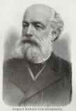 Augustus Kekule von Stradonitz Royalty-vrije Stock Afbeelding