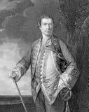 Augustus Keppel, 1st Burggraaf Keppel Stock Afbeelding