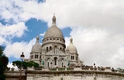 11 augustus, 2011 parijs frankrijk Basiliek van het Heilige Hart Stock Afbeeldingen