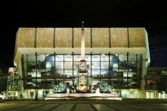 Augustus Platz en Leipzig Imagen de archivo
